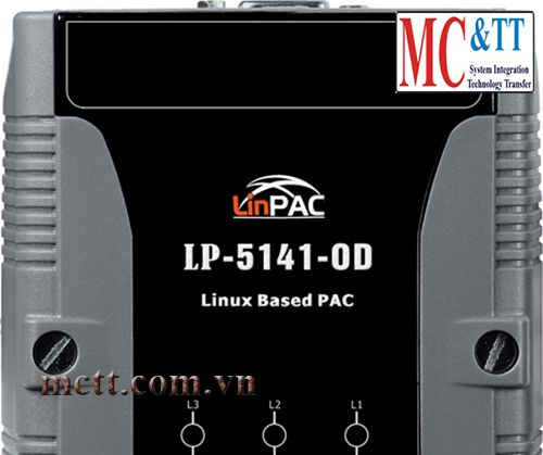 PAC with Linux kernel 2.6.19 and two LAN ports and Audio CIP DAS LP-5141-OD