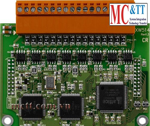 Board mở rộng 4 cổng RS-485 ICP DAS XW514