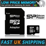 Silicon Power - Micro SDHC Card 8GB Class 4