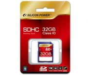 Silicon Power - SD Card SDHC 32G Class 10