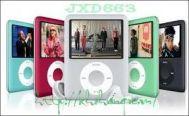 Máy nghe nhạc JXD 663T- 4GB Bạc