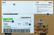 Dây cáp mạng, cable mạng cat5e AMP hàng chính hãng 6-219590-2