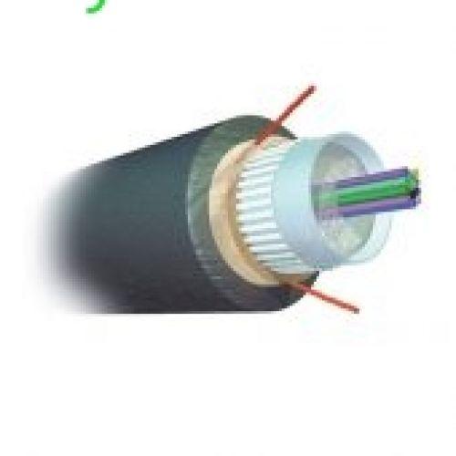 Cáp AMP Fiber Optic Cable, Outside Plant, 6-Fiber, XG MM 50/125µm, Dielectric Jacket