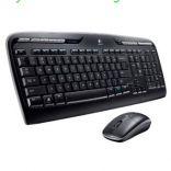 Bộ bàn phím chuột không dây Logitech MK330 USB-Wireless