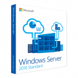 Windows Server Std 2016 64bit English 1pk DSP OEI DVD 16 Core (P73-07113