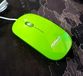 Chuột ASROCK WIRED MOUSE Green W/AK