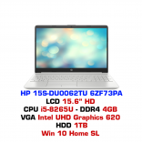 Máy tính xách tay HP 15s-du0062TU 6ZF73PA