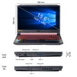 Máy tính xách tay Laptop Acer Nitro AN515-43-R84R NH.Q5XSV.001