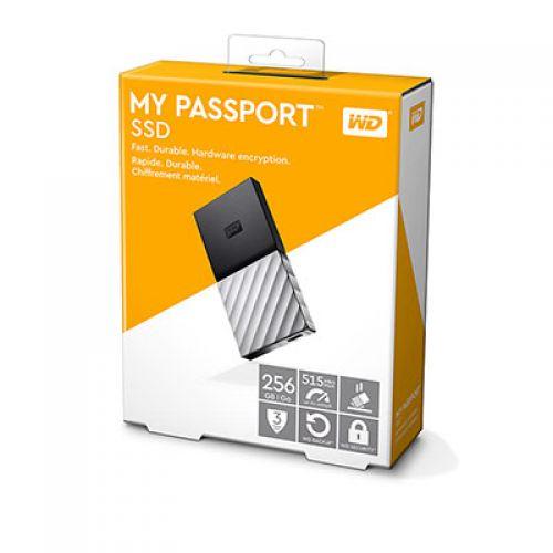 Ổ cứng gắn ngoài WD Passport SSD 256GB USB 3.1