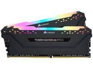 Bộ nhớ trong - Ram Corsair Vengeance RGB Pro 32GB (2x16GB) DDR4 3200MHz Black(CMW32GX4M2D3000C16)