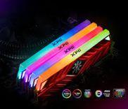 Bộ nhớ trong - Ram ADATA SPECTRIX D41 RGB 8GB (1x8GB) DDR4 3000Mhz (Đỏ hoặc Xám)