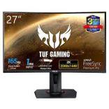 Màn hình máy tính Asus TUF GAMING VG27WQ 27 inch WQHD 165Hz (Cong) DisplayHDR™ 400