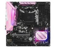 Bo mạch chủ - Mainboard ASROCK B450M Steel Legend (Pink Edition)