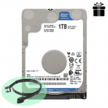 Ổ cứng Laptop  - HDD Laptop WD Blue 1TB 2.5 inch SATA III 128MB Cache 5400RPM WD10SPZX