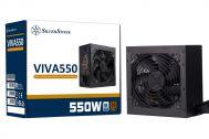 Nguồn Máy Tính - PSU PC SilverStone VIVA 80 Plus Bronze 550w (VIVA 550 Bronze)