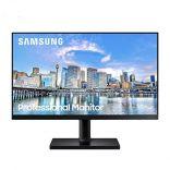 Màn Hình Máy Tính - Computer Screen Samsung LF24T450FQEXXV 24 inch FHD 75Hz
