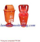 Thùng rác composite FTR 006