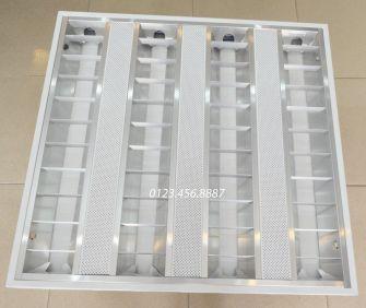 Máng đèn SIMON loại âm trần 4 bóng T8 x 18w