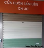 CỬA CUỐN TẤM LIỀN CN ÚC GIÁ RẺ - TITADOOR