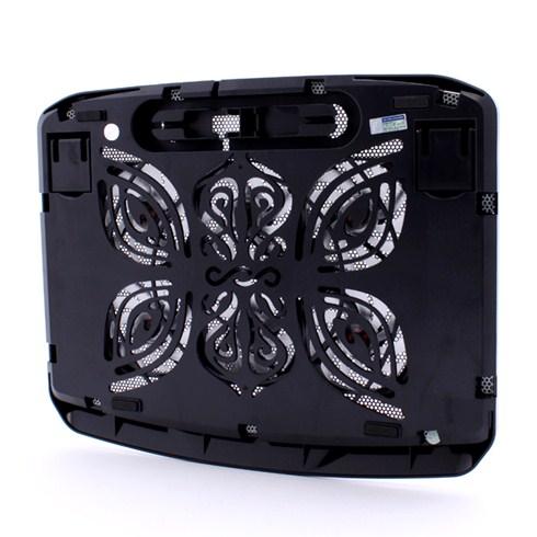Đế tản nhiệt COOLCOLD N100 Premium 6 Fans - Màu đen