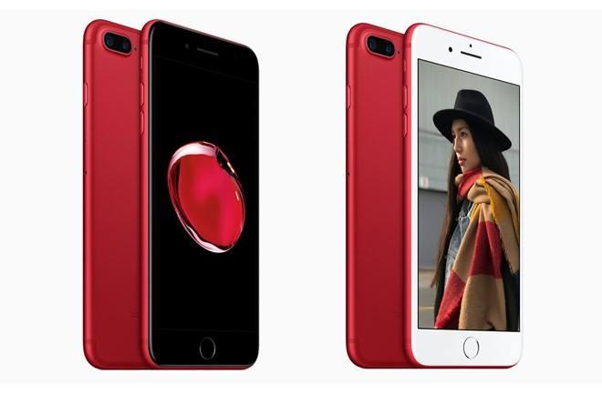 Ốp lưng độ lên iPhone 7 màu Đỏ