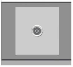 Ổ cắm TV đơn ArtDNA E9-16