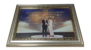 Sen Việt nhận giải thưởng Exellent Dealer Award