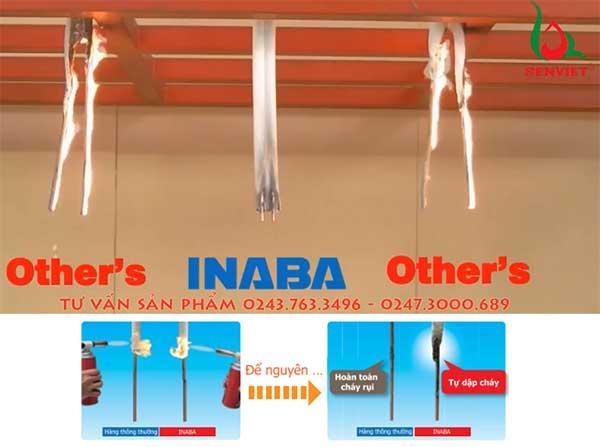 Kiểm tra độ cháy dọc ống đồng thái lan kèm bảo ôn Inaba