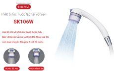Thiết bị lọc nước vòi hoa sen Cleansui SK106W