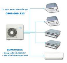 Dàn nóng điều hòa Multi Daikin 2 chiều 5MXS100LVMA 34,100BTU