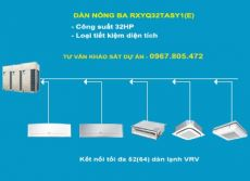 Dàn nóng 2 chiều điều hòa trung tâm Daikin VRV IV RXYQ32TASY1(E) 32HP