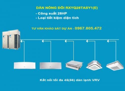 Dàn nóng 2 chiều điều hòa trung tâm Daikin VRV IV RXYQ28TASY1(E) 28HP