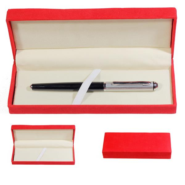 Hộp đựng bút xi đỏ