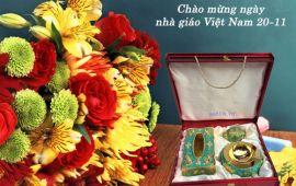 Bộ 3 hợp kim món quà tặng độc đáo - sang trọng ngày 20-11