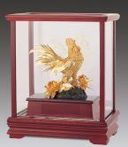 Tượng gà trống mạ vàng