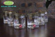 Bộ 6 cốc khảm bạc CKB01
