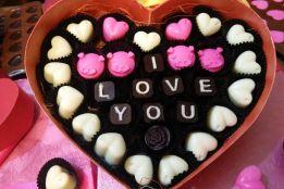 Hộp socola hình tim