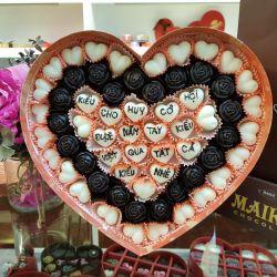 Hộp Socola Valentine 2018