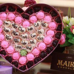 Hộp quà socola Valentine lãng mạn số 6