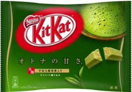 Bánh Nestle Kit Kat trà xanh