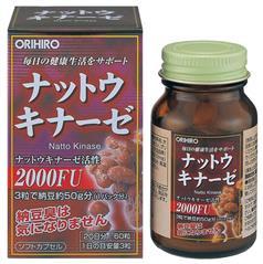 Viên uống hỗ trợ điều trị tai biến Nattokinase 2000FU Orihiro 60v