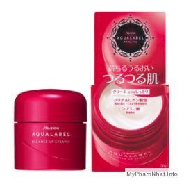 Kem dưỡng da Shiseido Aqualabel Cream màu đỏ