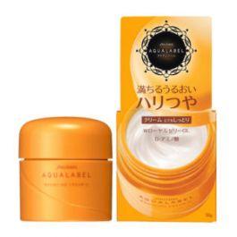 Kem dưỡng da Shiseido Aqualabel Cream Ex màu vàng