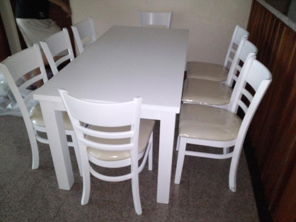 Bộ bàn ăn Mostar 6 ghế