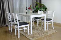 Mẫu bàn ghế gỗ phòng khách giá rẻ  Bộ Mostar W2-4   Uy tín tại Hà Nội