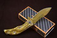 Dao xếp Browning Rồng Vàng dài 21cm