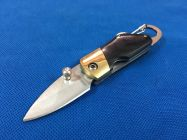 Móc khóa dao đen dài 11cm