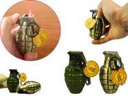 Hột Quẹt hình lựu đạn