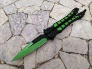 dao bướm tia chớp xanh lá