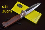 dao xếp Buck USA cán gỗ 28cm